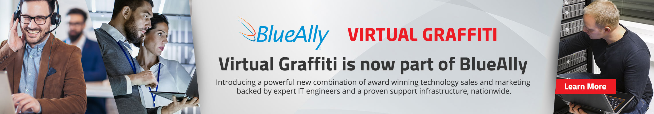 Virtual Graffiti has been acquired by BlueAlly