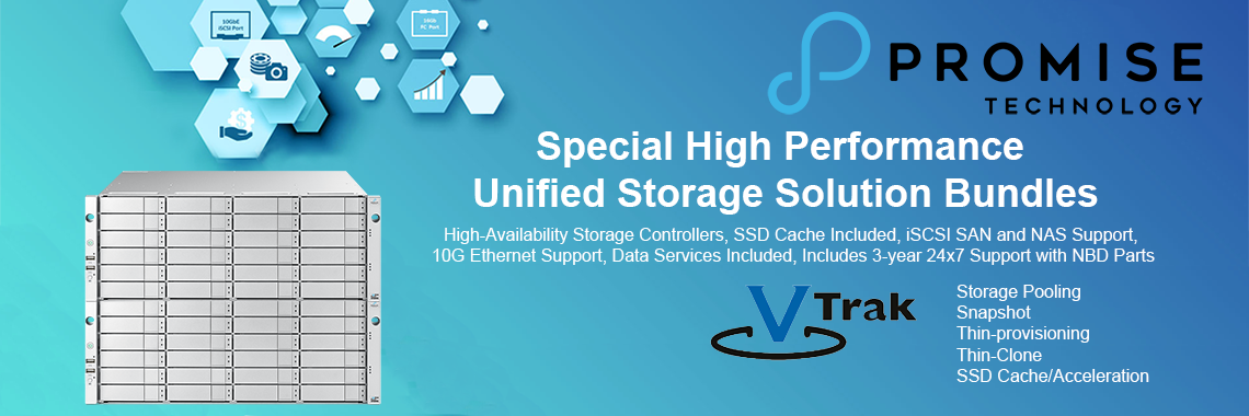 Special High Performance Unified Storage Solution Bundles